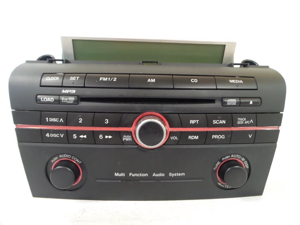 mazda 3 radio cd dvd sat tv 6 stacker cd bk 01 04 04 05. Black Bedroom Furniture Sets. Home Design Ideas